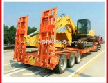 Heavy Type Low Bed Truck Trailer 40ton