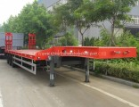 Sale 3 Axles 60t Low Bed Semi Trailer