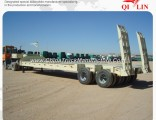 2 Axles 30 Ton Low Loader Truck Trailer for Sale