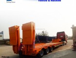 80ton Lowboy/Lowbed/Low Bed Semi Trailer