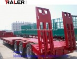 China 60 Ton Tri-Axle Heavy Duty Lowboy Trailer Low Bed Semi Trailer