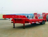 30t 2 Axles Lowboy Low Bed Lowbed Semi Trailer