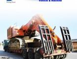 Excavator Transport Gooseneck Lowboy Low Bed Lowbed Semi Trailer