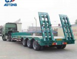 Best Price Heavy Duty 60-80tons Low Bed/Lowbed/Lowboy Semi Trailer