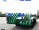 Low Bed Trailer Lowboy Semi Trailer Tractor Trailer