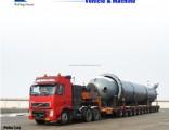 50-80t Low Bed Trailer Lowboy Semi Trailer Tractor Trailer