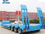 80 Tons 2 Lines 4-Axles Low Bed/Lowboy Truck Trailer