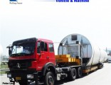 Weifang Forever 3 Axle Lowboy/Low Deck/Low Bed Semi Truck Trailer