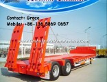 Low Loader Lowbed Trailer, Low Height Bed Lowboy Trailer 100 Ton, Price Low Bed Trailers Hot Sale