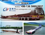 Extendable Trailer, Hydraulic Steering Wind Blade Lowbed Trailer, 3 Axles 4 Axles 5 Axles Extendable