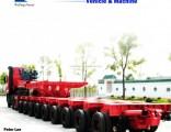 3 Axle 50-80t Low Bed Trailer Lowboy Semi Trailer Tractor Trailer