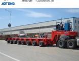150tons 8 Axles Heavy Duty Trailer for Sale (lowboy)