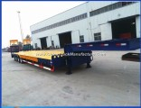 100ton 4 Axle Lowboy Trailer for Africa