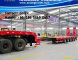 Extendable Low Bed Semi Trailer for Sale
