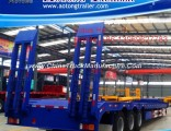 3 Axles Lowboy Trailer for Excavator Transportation Use (LAT9190TDP)