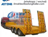 70tons 2 Lines 4 Axles Low Bed/Lowboy Truck Trailer