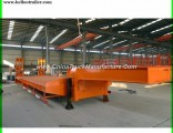 3 Axle 60ton Lowboy Low Bed Trailer