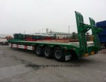 60tons Low Bed Semi Trailer