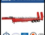 Cimc Low Bed Trailer with Hydraulic Ladder