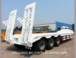 Tri Axles Gooseneck 13meters Excavator Low Bed Semi Trailer for Sale