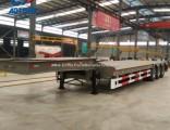 Heavy Duty 3 Axle Low Bed Trailer/Semi Trailer