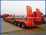 3 Axle 60 Ton Low Bed Trailer for Sale