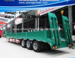 3 Axle 40 Ton - 60tons Widely Used Low Bed Trailer for Sale in South Africa