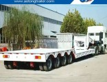 Gooseneck Removable Front Loading Low Bed Semi Trailer
