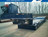 Front Loading Low Bed Trailer with Detachable Hydraulic Gooseneck