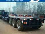 Hydraulic Gooseneck Detachable Type Front Load Low Bed Trailer