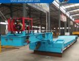 Front Loading 40-60 Tons Detachable Gooseneck Low Bed Semi Trailer
