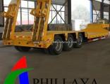 Tri-Axles Gooseneck Low Bed Trailer Dimensions