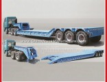 Front Loading Low Bed Trailer with Detachable Gooseneck