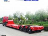 Excavator Transport Gooseneck Low Bed Lowbed Semi Trailer