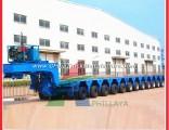 Detachable Gooseneck Modular Truck Connection Lowbed Heavy Duty Hydraulic Trailer