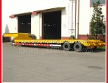 30-40ton Double Axle 2axle Haul Lowboy Gooseneck Lowbed Truck Trailers