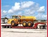 3 Axles 13m/18m Length 60tons Gooseneck Lowbed Semi Trailer
