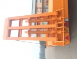 Good Price Gooseneck Excavator Transport Semi Trailer Width 2.5m Extend to 3m