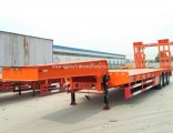 2018 Chengda Brand Lowbed Low Bed Semi Trailer for Sale