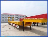 3 Axle 60 Ton Lowbed Semi Trailer in Africa