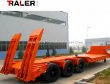 Utility Low Bed Container Semi Trailer 3 Axle Hello Trailer