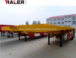 Extended Flatbed Semi Trailer with 3 Axle