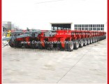 Multi-Purpose Hydraulic Loe Bed Semi Trailers with Good Quality