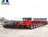 Heavy Duty Special Vehicle Truck Trailer for 100-500ton Equipment Transport