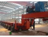 Transport Heavy Equipment Hydraulic Modular Trailer