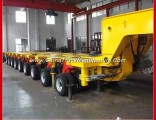 9 Rows 18 Axles 250 Tons Hydraulic Modular Trailer