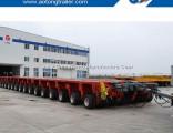 Heavy Duty 100-1000 Tons Modules Low Workbed Modular Semi Trailer