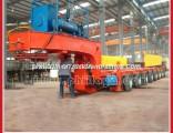 100-500ton Heavy Duty Hydraulic Modular Truck Trailer