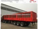 Box Cargo Animal Transport Semi Truck Trailer for Africa