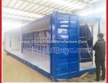 Curtain Side 3axles Cargo Cabin Side Box Truck Semi Trailer